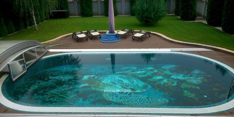3D Teknős Korallszirten